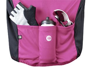 Back pockets for all your cycling necessities  ac98d009e