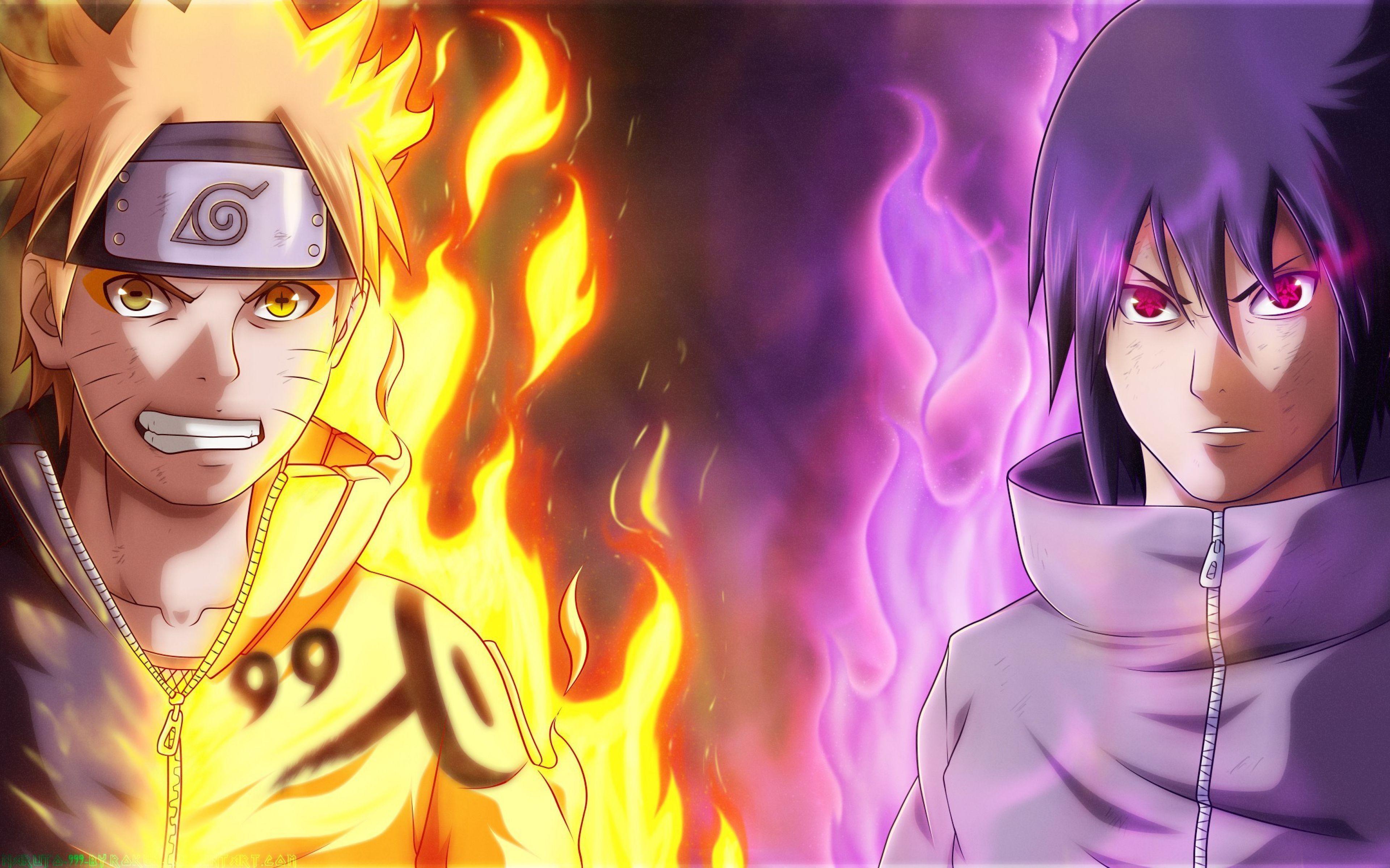 3840x2400 Naruto Vs Sasuke 4k Wallpaper Desktop Cinema Wallpaper 1080p Wallpaper Anime Sasuke Anime Naruto