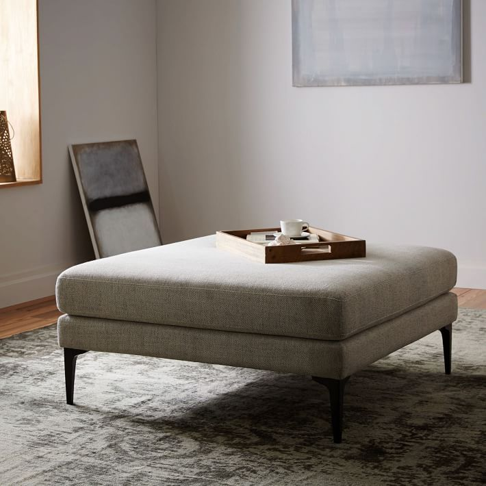 Sillones Y Otomanes West Elm Mx Furniture Upholstered Ottoman