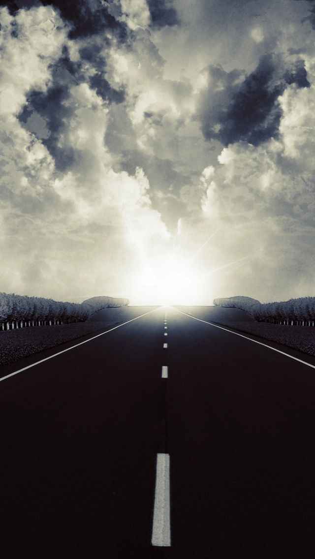 Dark Road 2 IPhone 5 Wallpaper