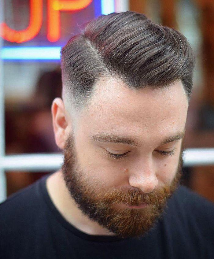 Seite Teil Combover Herren Haarschnitt Men Hairstyles Models
