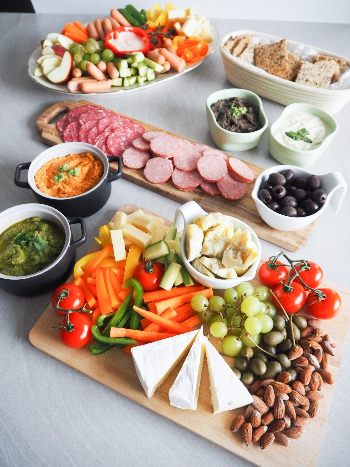 Lækker tapas - lav dit eget tapasbord - Home by Bianca #tapasideer