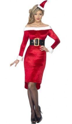 Deguisement Robe Mère Noël Déguisements Femme Pinterest