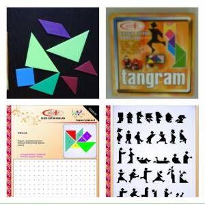 Tangram Oyunu 7 Li - Şekil çizgi çalişmasi Kitabi Hediyedir GittiGidiyor'da 259874043