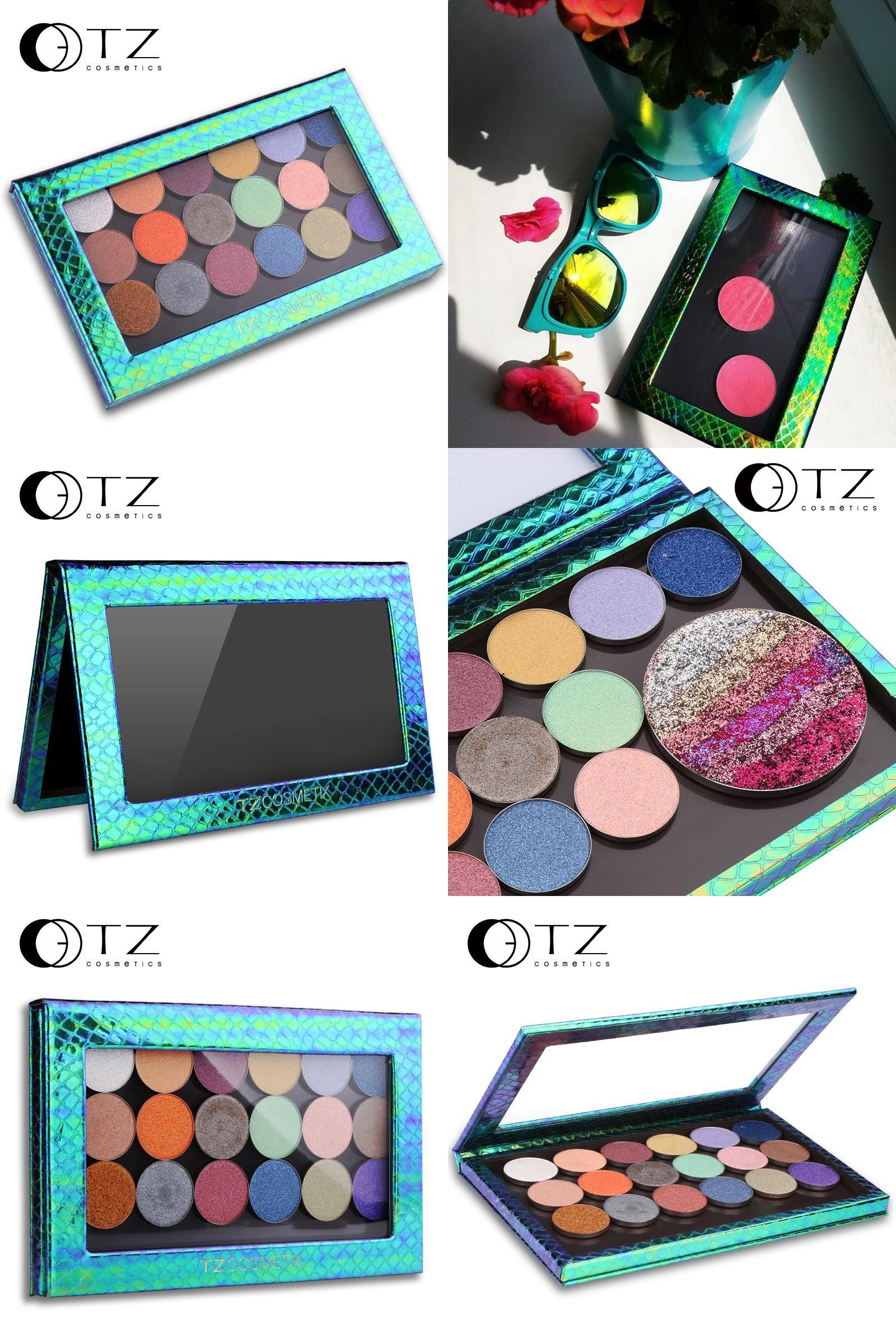 [Visit to Buy] TZ Large Z Palette Empty Makeup