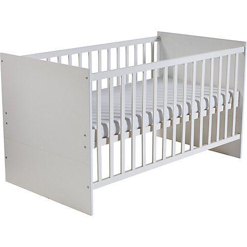 Kinderbett MAREN, Weiß, 70 x 140 cm weiß