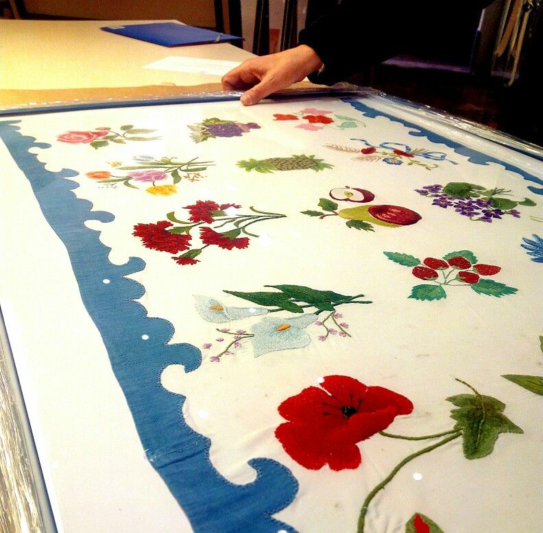marco para #labor bordada totart.cat | marcos para hacer historia ...
