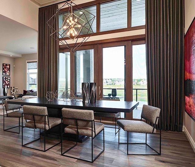 #diningroom #glasswall #contemporarydining #contemporaryinteriors