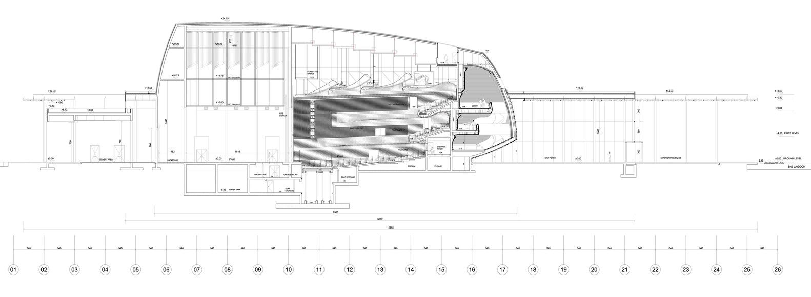 Gallery of Bahrain National Theatre / Architecture-Studio - 7 ...
