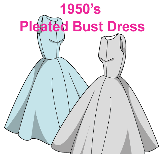 1950s Free dress patterns | Crafts | Pinterest | Dress patterns ...