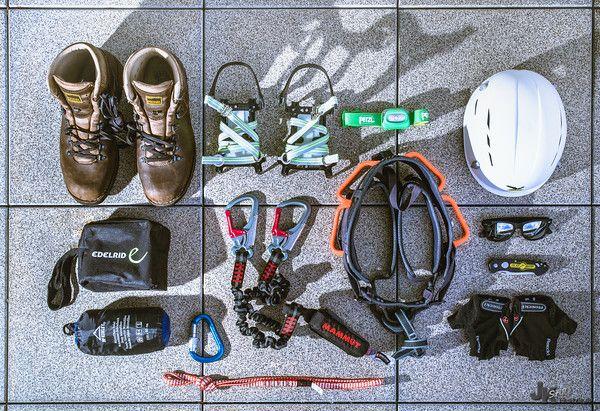 Klettersteig Ausrüstung : Klettersteig ausrüstung für den trip durchs höllental auf
