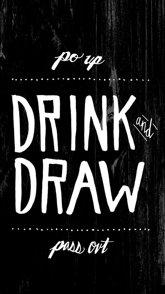 To Resolve Project - drink and draw