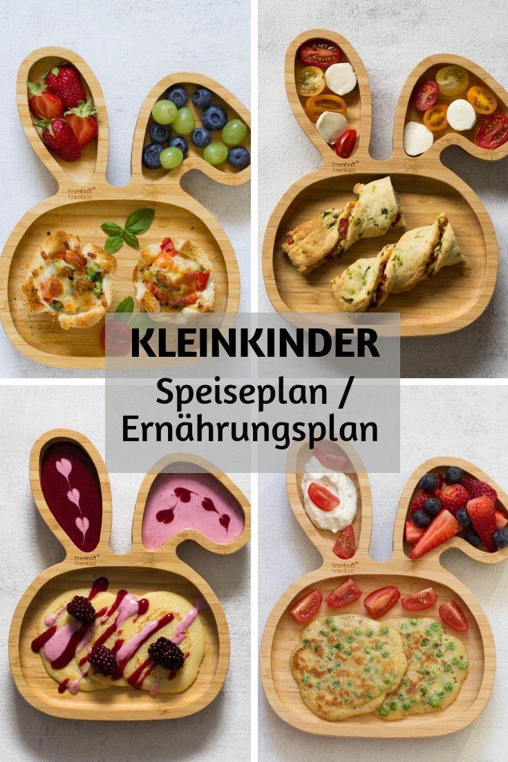 Speiseplan / Ernährungsplan Kleinkind (1,5 Jahre
