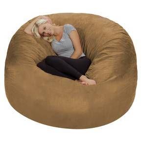 relax sacks relax sack 6 ft huge memory foam bean bag bean bags
