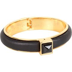 53% Off Now $26.99 #VinceCamuto - Color Pyramid Bangle #Bracelet (Nappa-Black/Gold/Black Stone) - #Jewelry http://www.freeprintableshoppingcoupons.com