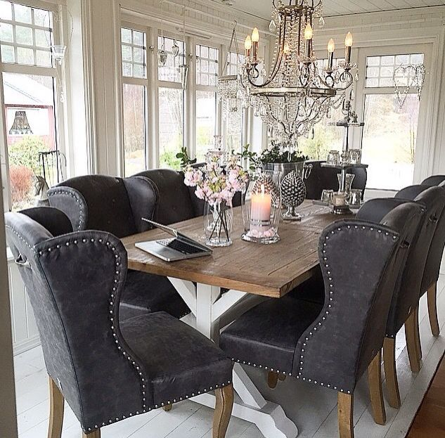 Love This Dining Room Chairs Are On Point Home Decor