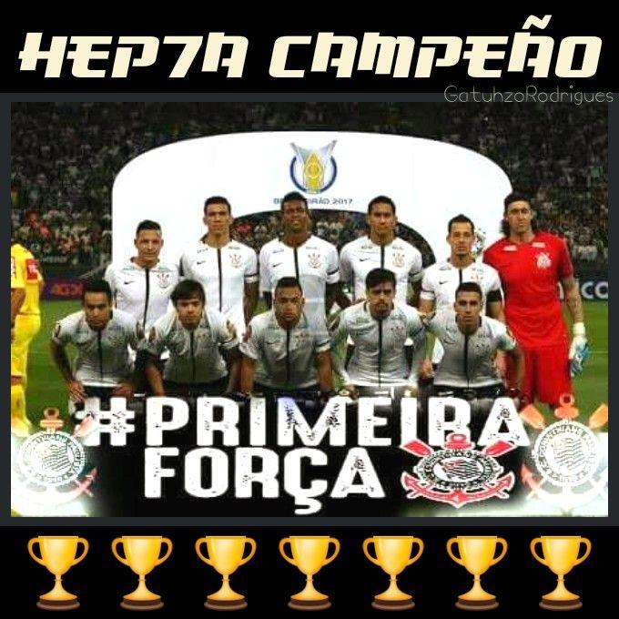 92ecd4891f Sport Club Corinthians Paulista - Campeão Brasileiro de 2017 ...