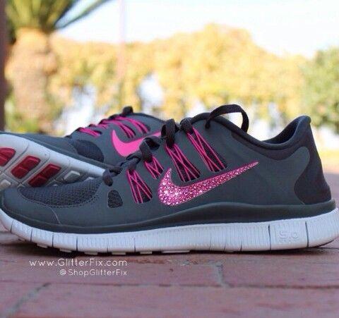 542d12ad12ed7a Nike glitter swoosh