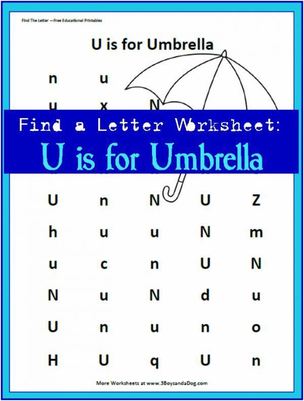 find the letter u is for umbrella homeschooling preschool letters letter u crafts. Black Bedroom Furniture Sets. Home Design Ideas