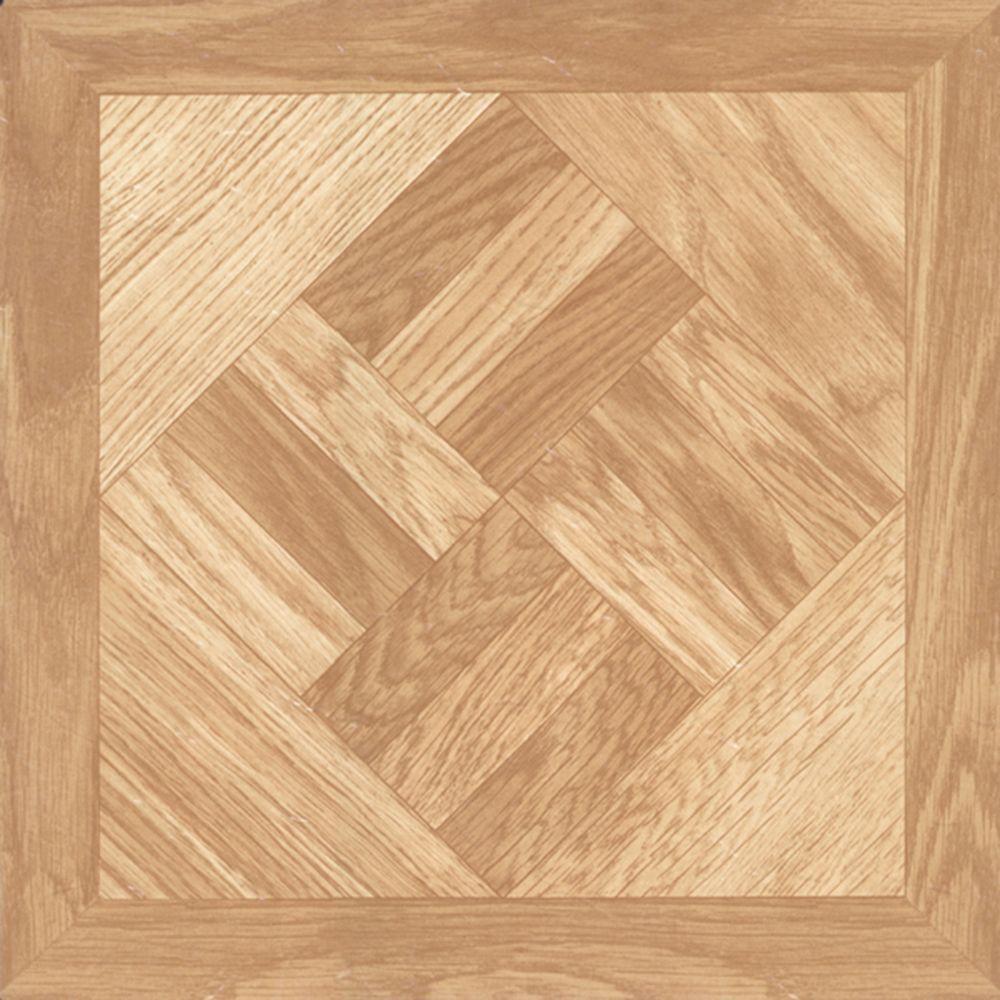 Chaucer 12 In Width X 12 In Length X 0 039 In Thick Peel And Stick Vinyl Tile 45 Sq Ft Carton 25000041 Vinyl Tile Vinyl Tiles Vinyl Tile Flooring