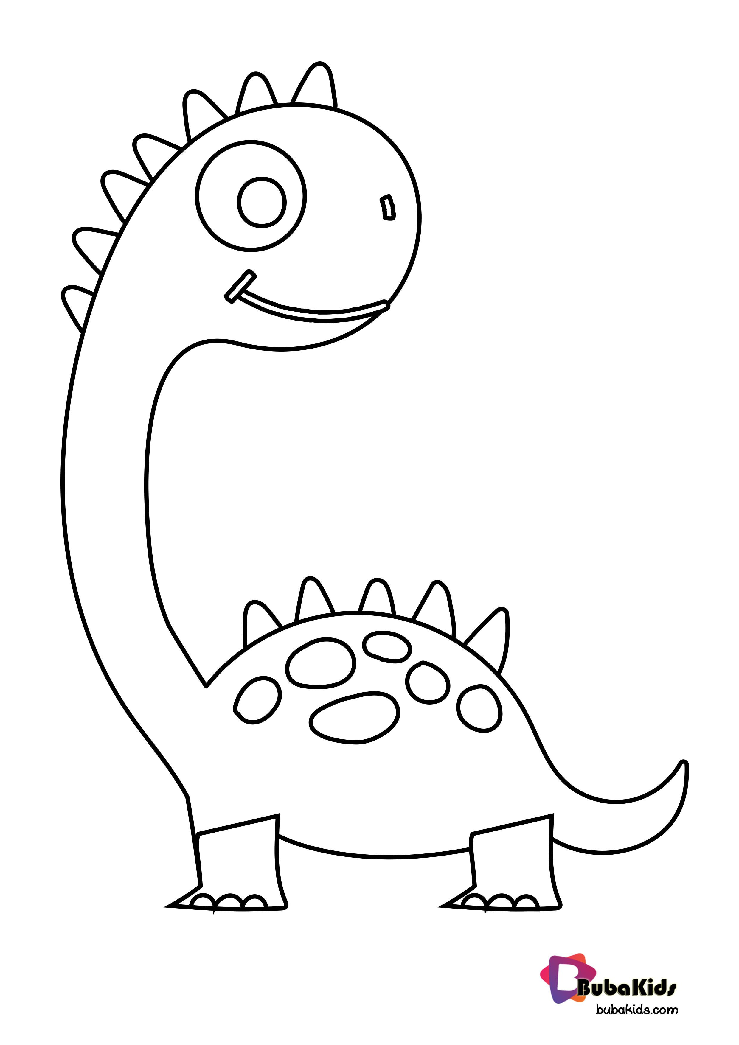 Cute Dinosaurs Coloring Page For Kids Cutedinosaurs Dinosaurscoloringpage Dinosaurs Color In 2020 Dinosaur Coloring Pages Coloring Pages For Kids Dinosaur Coloring