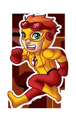 Chibi Kid Flash By Twinenigma On Deviantart Chibi Kid Flash League Of Heroes