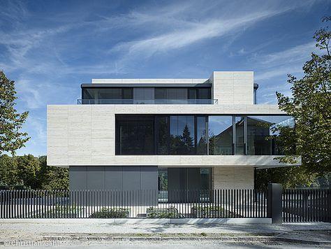 selbstbewusst am see berlin cube magazin hauseingang pinterest moderne h user haus und. Black Bedroom Furniture Sets. Home Design Ideas
