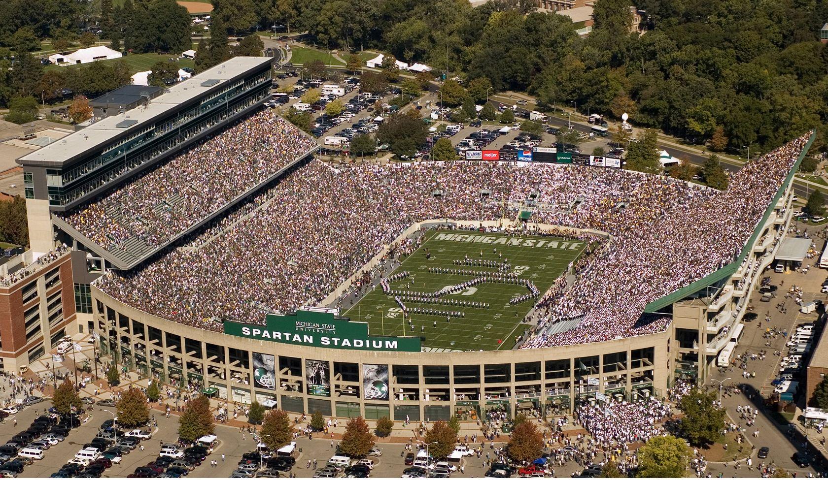 U2 Brings Its 360 Tour To Spartan Stadium June 26 College Football Rankings Michigan State Football Football Stadiums