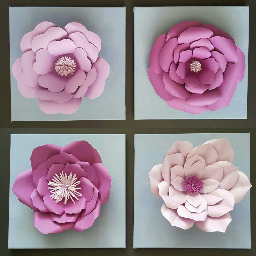 Paper Flowers For Wall Paper Flowers Pinterest Flowers Coffee