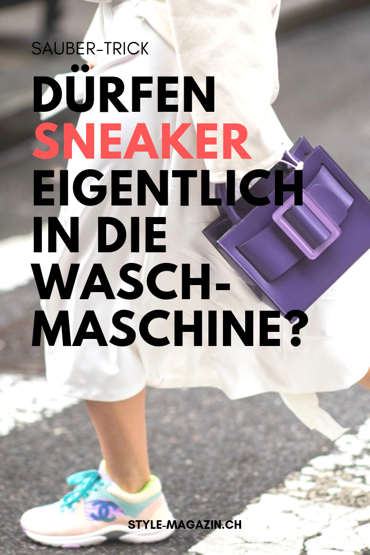 Dürfen Sneaker eigentlich in die Waschmaschine? | Lifehacks