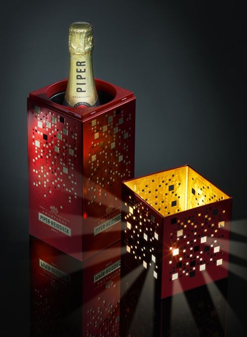 Bubbles book - Comunicazione, Design ed Eventi Champagne Carnet de bulles #Giftbox