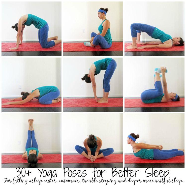 30+ Yoga Poses for Sleep Yoga poses for sleep, Yoga