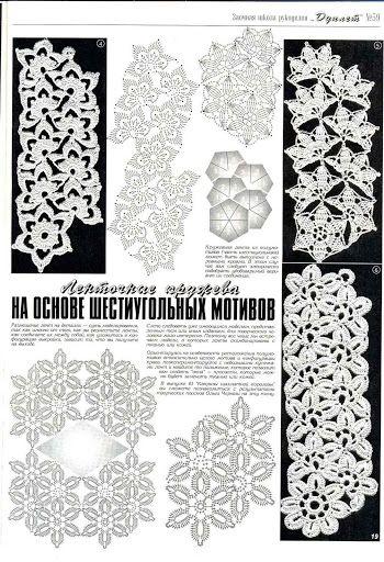 Häkeln - crochet - … | Häkeln Kettenmuster - crochet | Pinterest ...