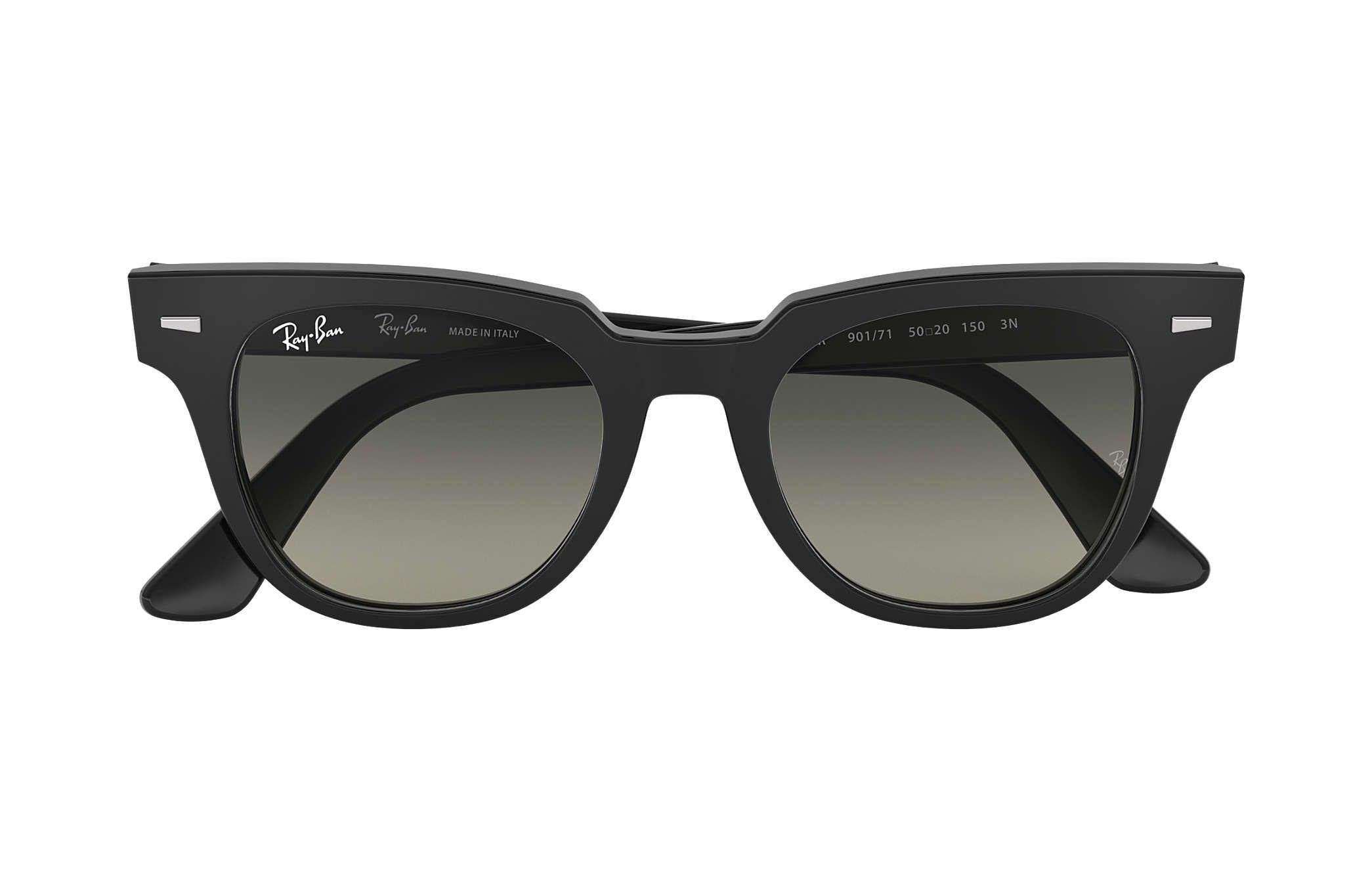 47972c2f40e0a Ray-Ban Meteor Sunglasses Black Grey Gradient !