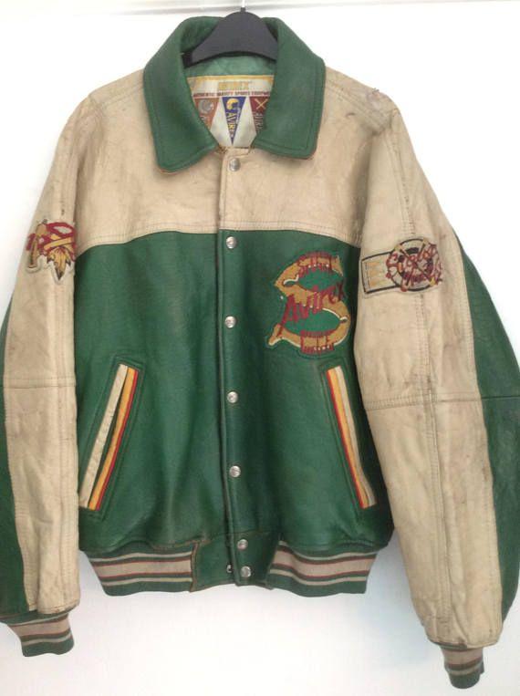 On Sale Vintage MALT'S BEAR Reversible Varsity Jacket Rare 47rHr