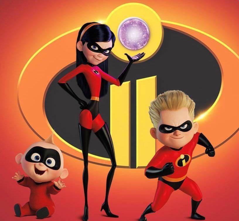 Jack Jack Violet Dashiell Dash The Incredibles Los Increibles Personajes Violeta Los Increibles Los Increibles
