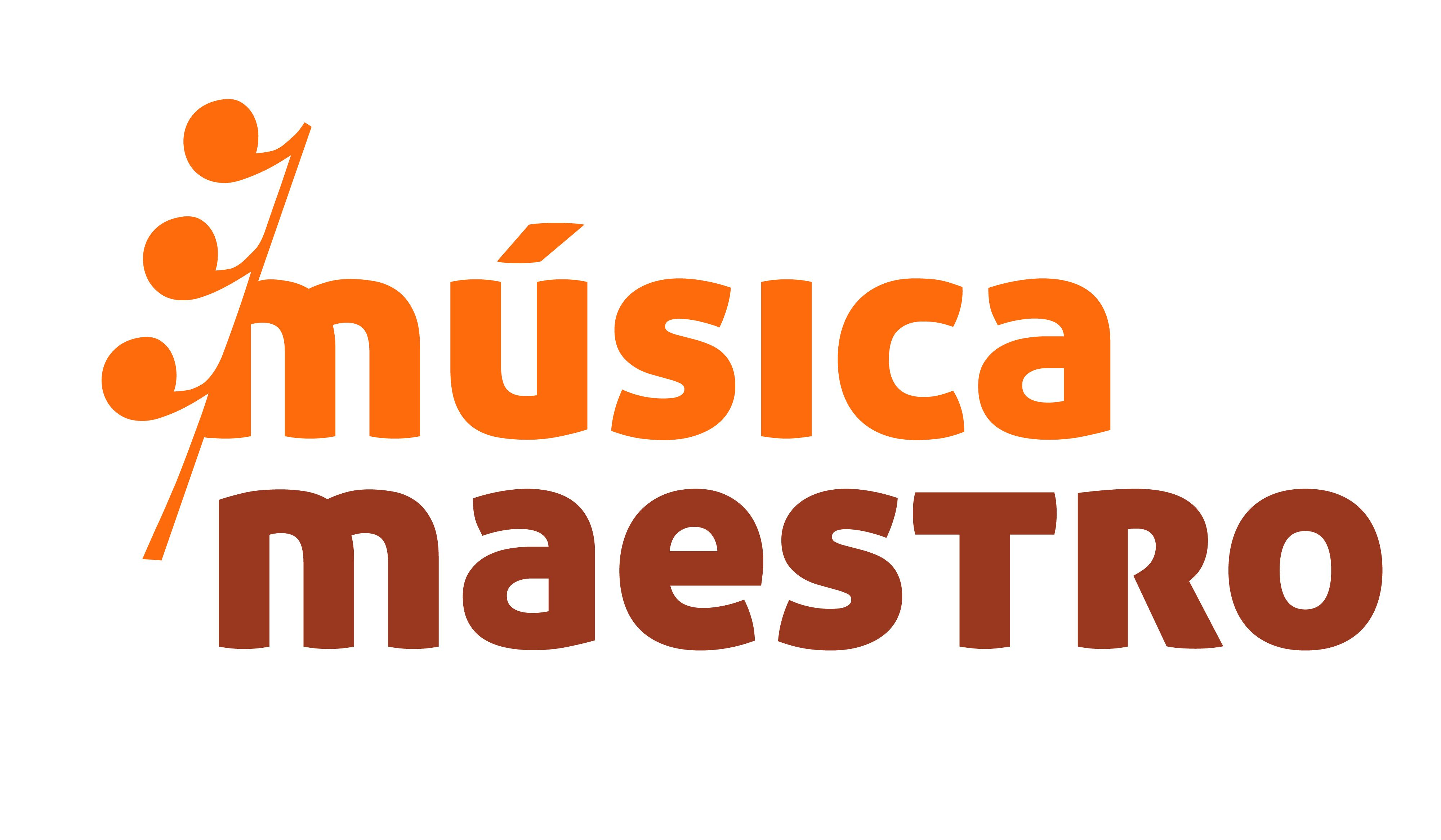 Logo Música Maestro. Diseño: Lucía López Garci-Crespo.