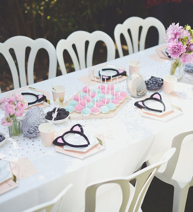 Party Planning A Kitty Cat Kids Birthday Party Birthdays and