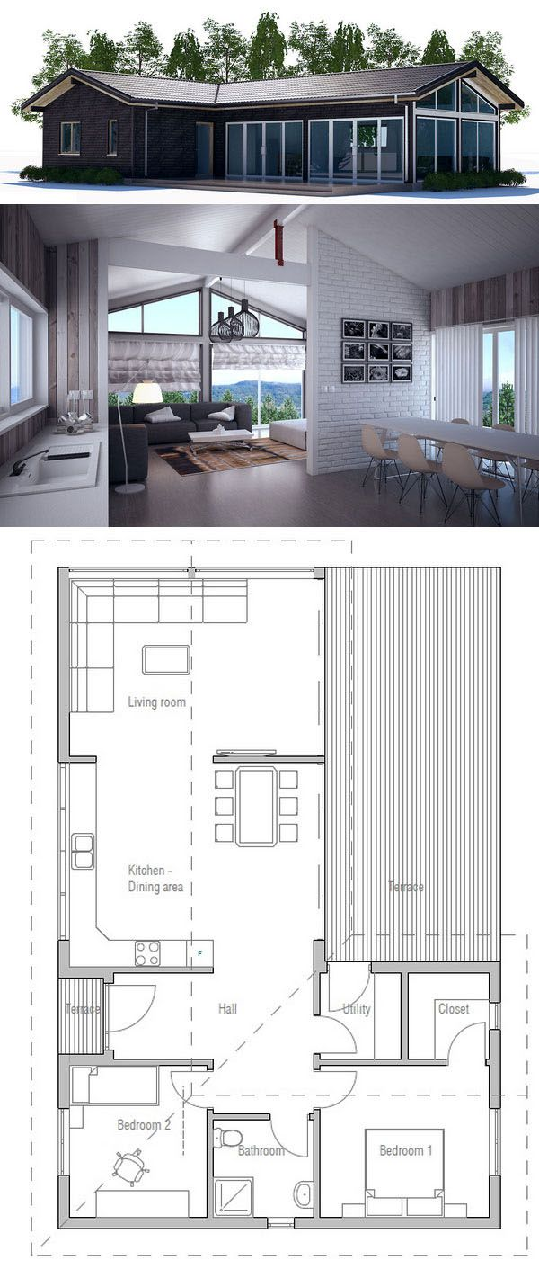 Architecture Modern House Plans In 2018 Pinterest Plan Maison