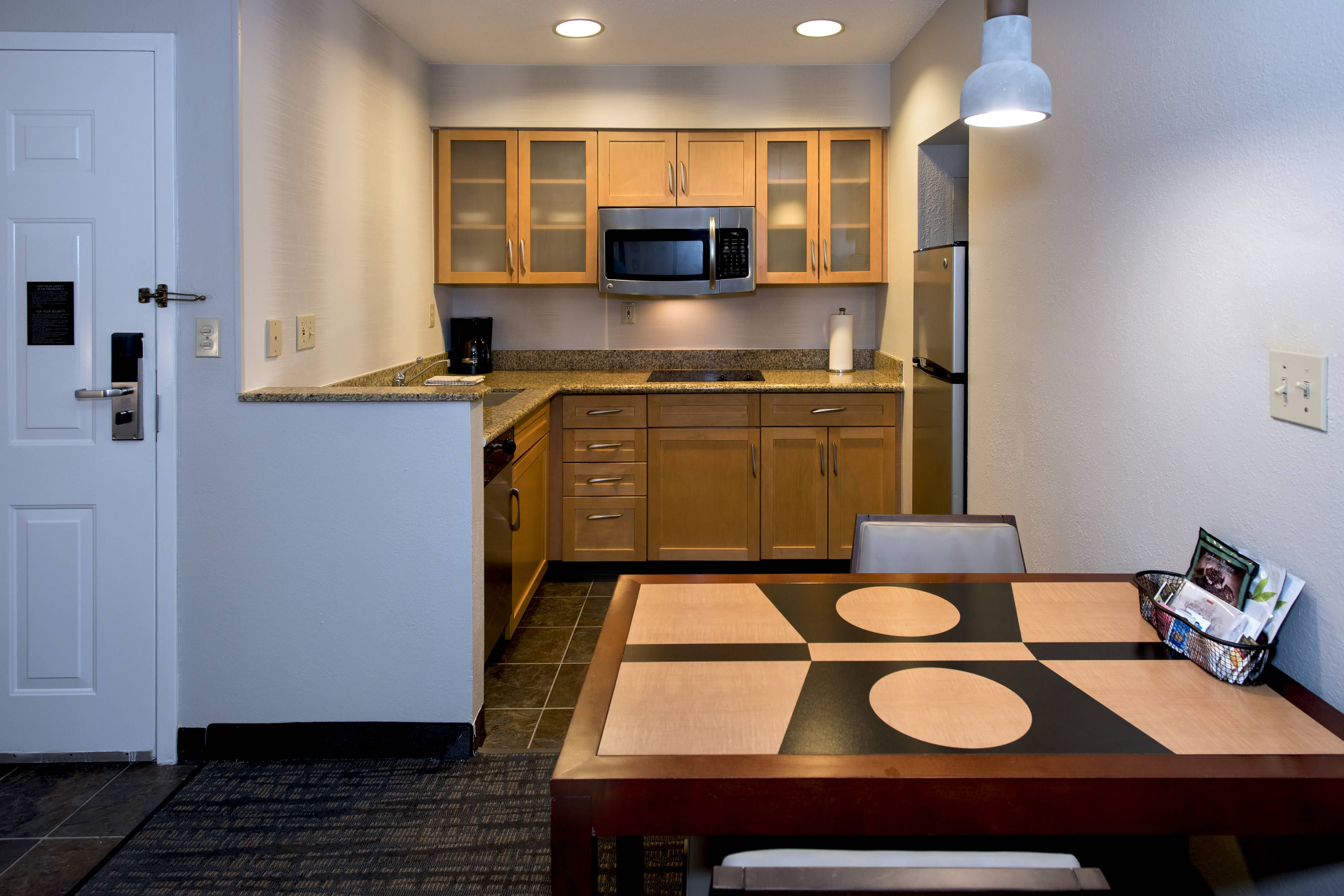 Residence Inn Syracuse Carrier Circle Suite Kitchen Relax