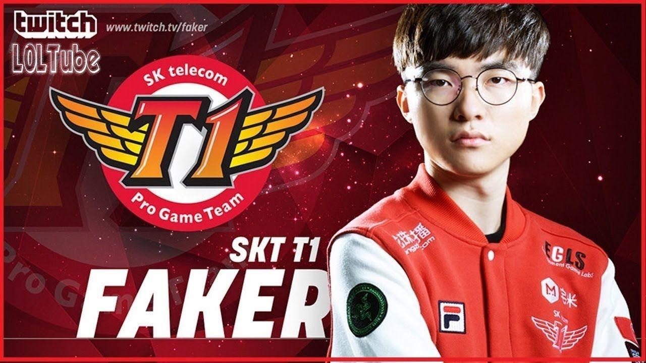 SKT T1 Faker Live Stream LOL 21/09 Translation EN Hide