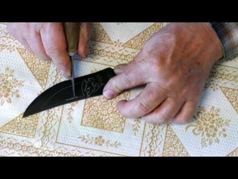 Messer Selber Bauen Aus Einem Sageblatt Knife Selfmade Youtube