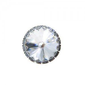 14mm Round Swarovski Crystal Foiled Rivoli 1122