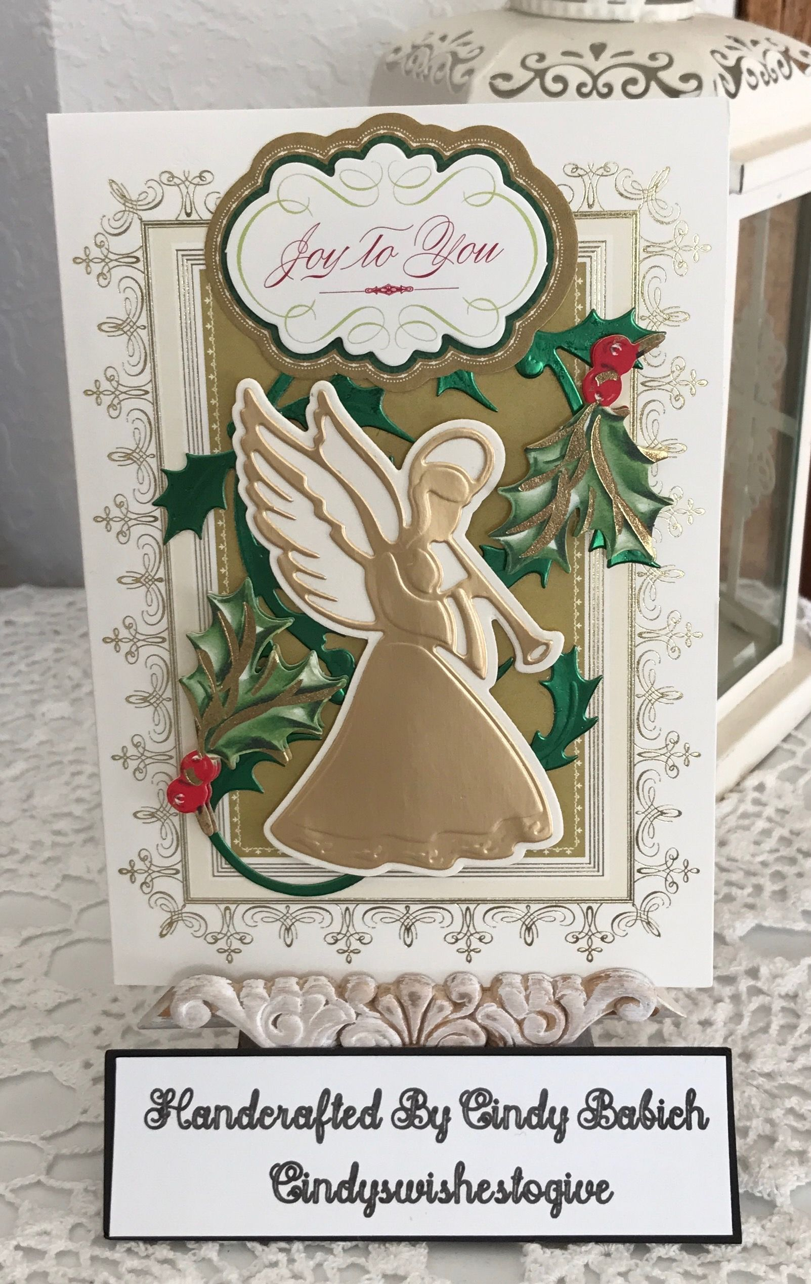 Easter Card Sentiments: Christmas Card / Made With Anna Griffin Christmas Perfect