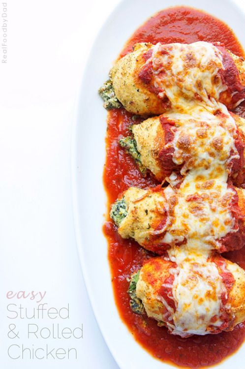Easy stuffed rolled chicken real food by dad amazing chicken easy stuffed rolled chicken real food by dad forumfinder Image collections