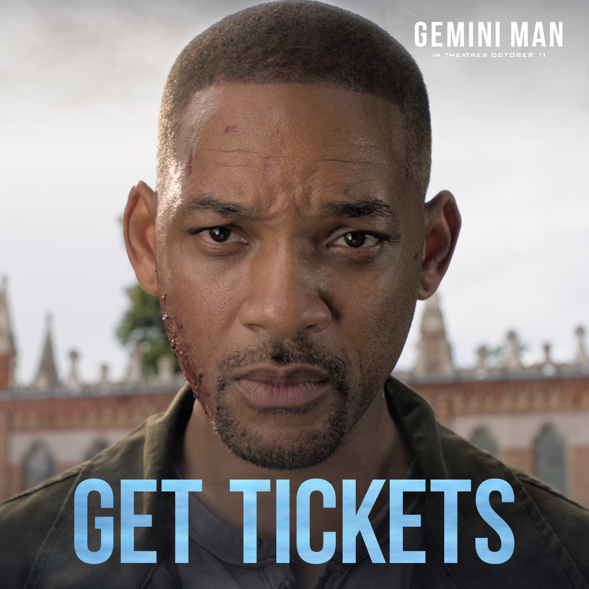 Watch Gemini Man In Theaters 10 11 19 Gemini Man Will Smith Movies Gemini