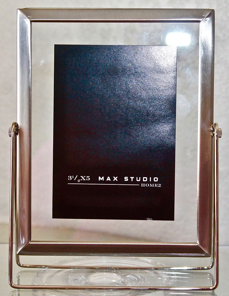 Max Studio Home Picture Frame 3 12 By 5 Metal New Max Studio Home