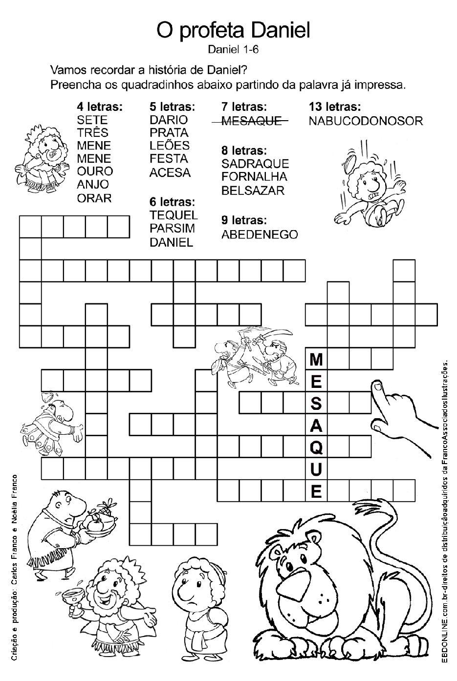 Atividades Biblicas Para Criancas De 7 A 9 Anos Para Imp