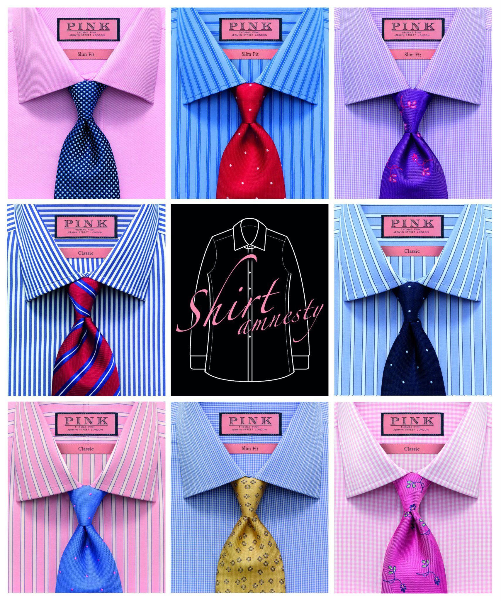 Pink dress shirt blue suit  Shirt envy  Thomas Pink  Pinterest  Shirt tie combo Thomas pink