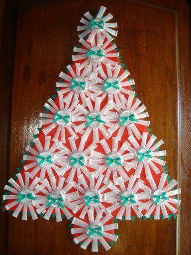 Vasos De Plastico Para Un Arbol De Navidad Navidad Pinterest